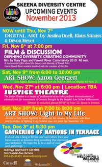 Skeena Diversity Centre events