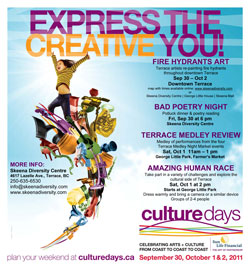 Culture Days in Terrace